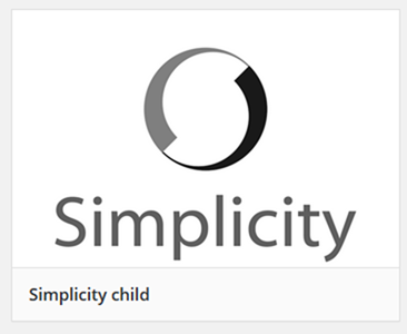 子テーマファイルのロゴ