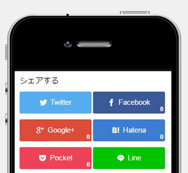 iPhone4のバイラルボタン