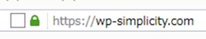 完全SSL対応したSimplicityページのれ